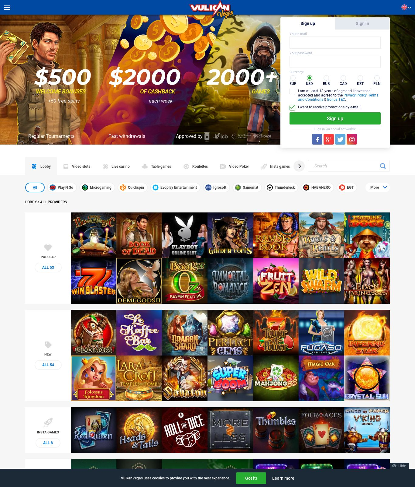 Вулкан казино 50 рублей